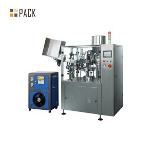Otomatik ultrasonik tıbbi ve ilaç tüp dolum yapıştırma makinesi