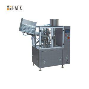 Kozmetik plastik krem için yüksek kapasiteli tüp dolum makinası