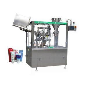 Otomatik yumuşak cilt merhem tüp dolum ve mühürleme makinesi