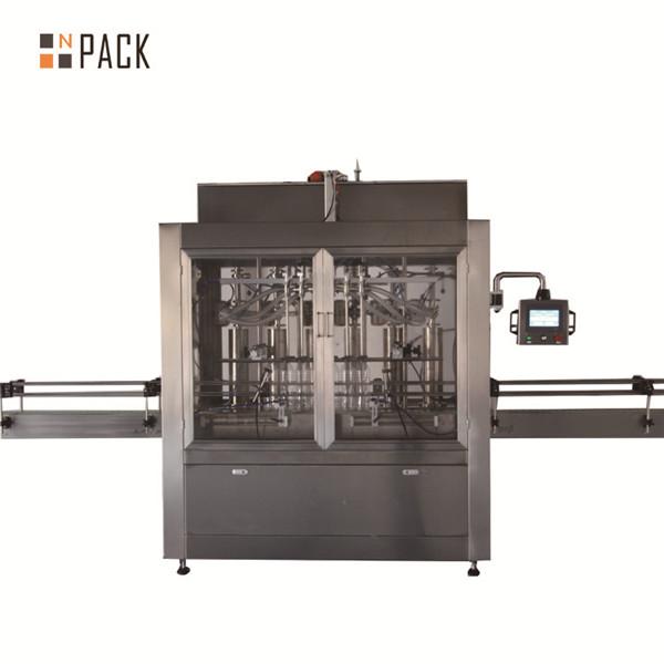 İki kafa pnömatik hacimsel pistonlu sıvı dolum makinası