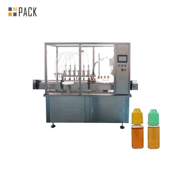 Otomatik bulaşık deterjanı deodorant sprey dolum makinası