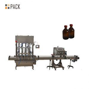 Yüksek Doğruluk Otomatik yağlama yağı / madeni yağ dolum makinası