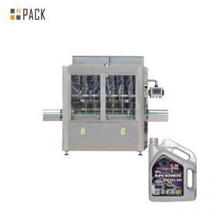 Sıvı Şişe İçin 5-5000 ml Tek Kafa Pnömatik Piston Bal Dolgu Macunu Dolum Makinesi