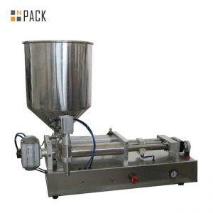 Costomic 2 Kafa Yarı Otomatik Asit Sıvı Dolum Makinesi