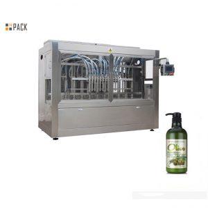 Komple otomatik şişelenmiş el banyo şampuanı dolum makinası
