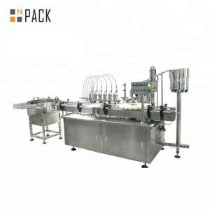 10ml 30ml 50ml Yuvarlak Cam Şişe Kozmetik Esansiyel Yağı Dolum Şişeleme Makinesi