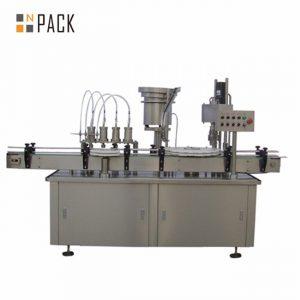 Otomatik 10ml 15ml 30ml e-sıvı göz damlası damlalıklı şişe dolum kapatma makinesi